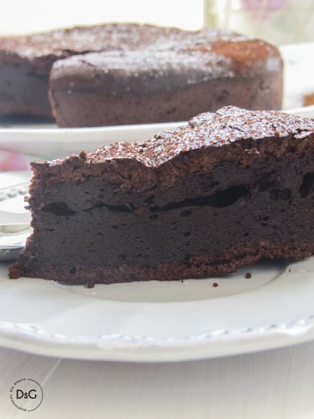 tarta brownie de chocolate sin gluten