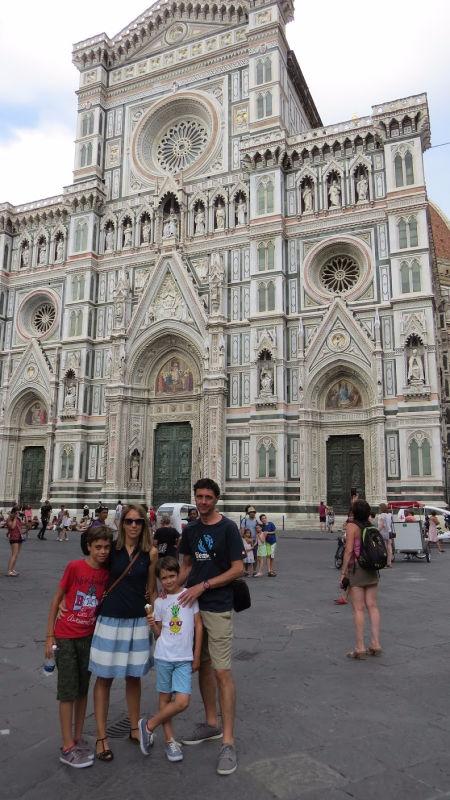 Florencia, Italia, sin gluten
