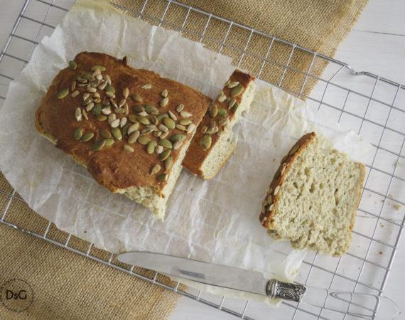 Pan de molde con semillas sin gluten