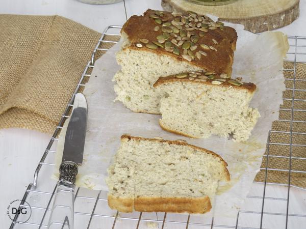 receta pan multisemillas sin gluten