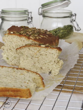 pan sin gluten con semillas
