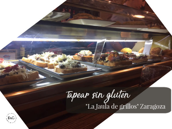 tapas sin gluten restaurante Zaragoza