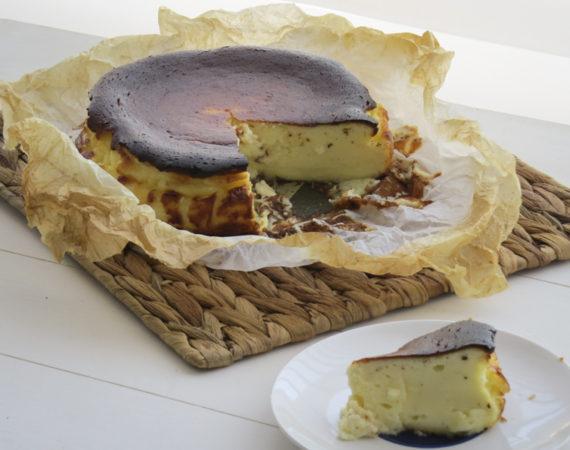 Tarta queso de la viña sin gluten