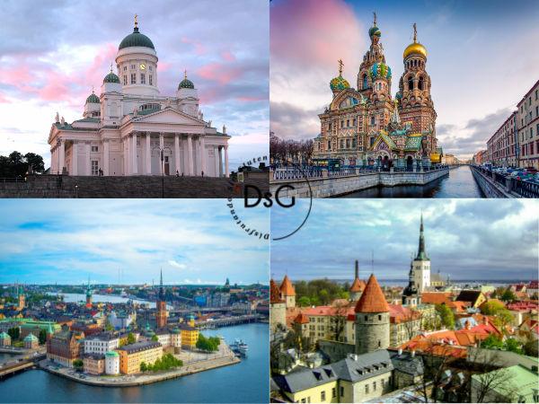 capitales a visitar en un crucero por el mar báltico