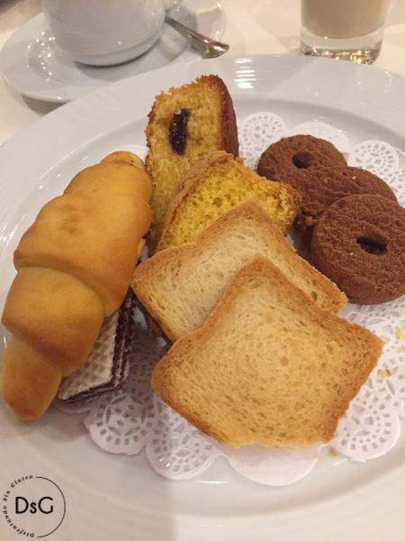 desayuno sin gluten en un crucero