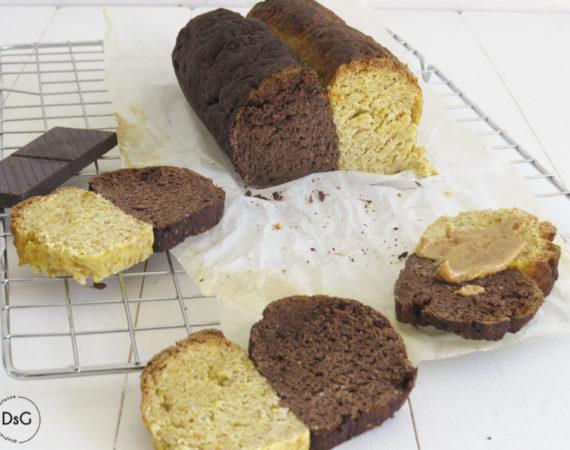 Pan de chocolate y calabaza sin gluten
