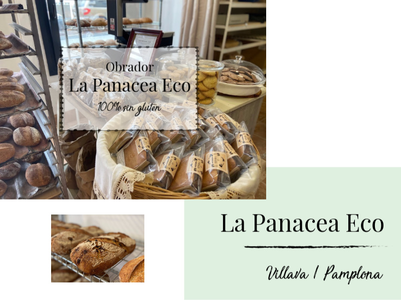 Obrador La Panacea Eco 100% sin gluten en Pamplona