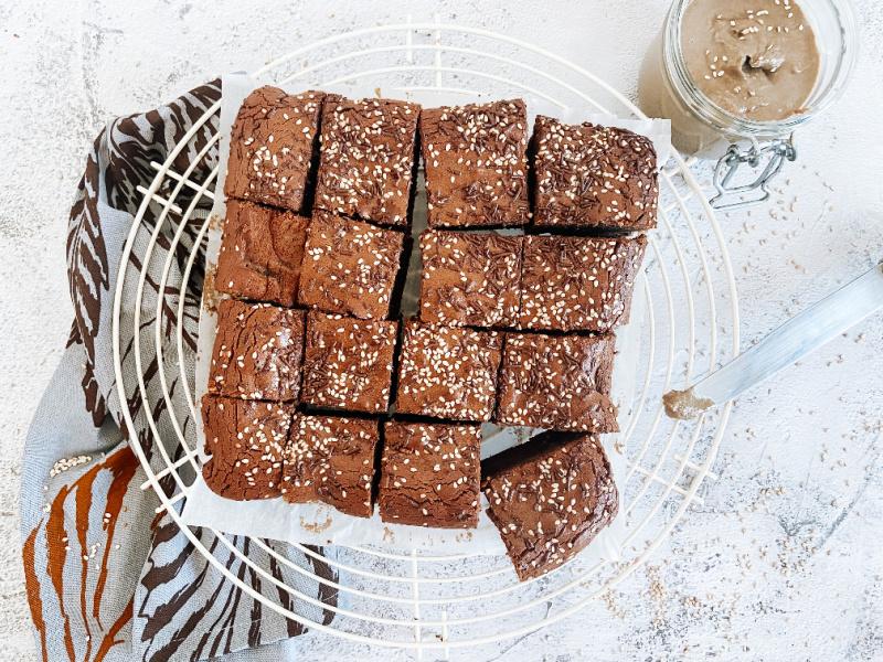 brownie saludable sin gluten