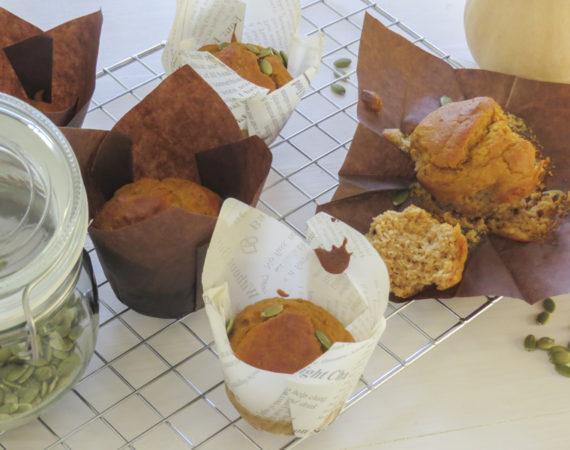 Muffins de calabaza sin gluten