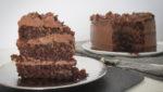 tarta de chocolate y zanahoria sin gluten