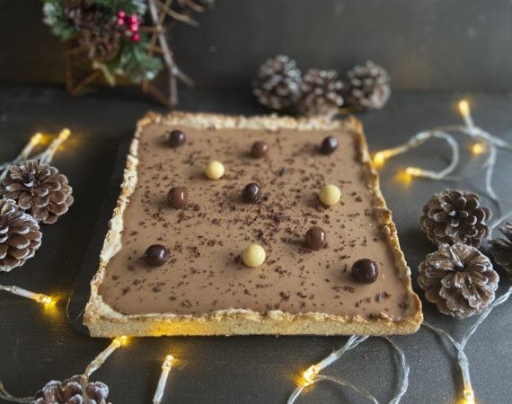 Tarta mousse chocolate sin gluten