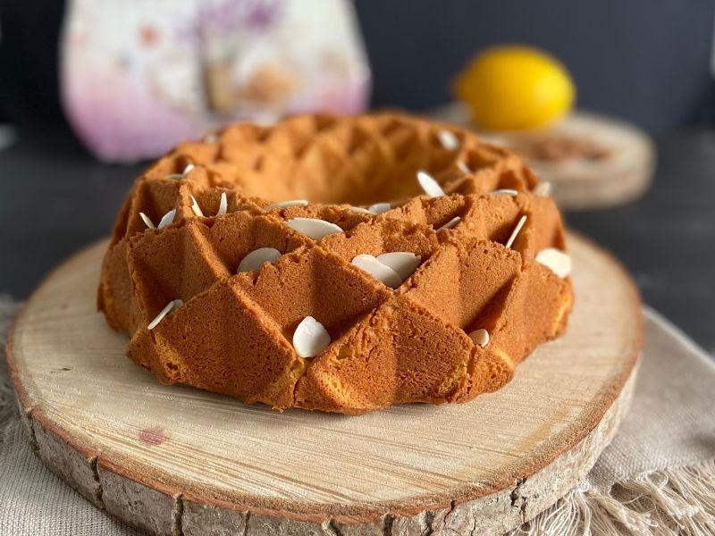 bundt cake de almendras y mascarpone sin gluten