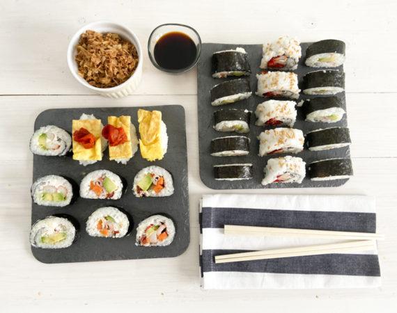 Cómo hacer sushi sin gluten