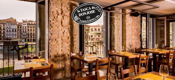 Tasca don José sin gluten en Pamplona