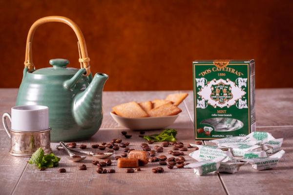 Caramelos Menta dos Cafeteras