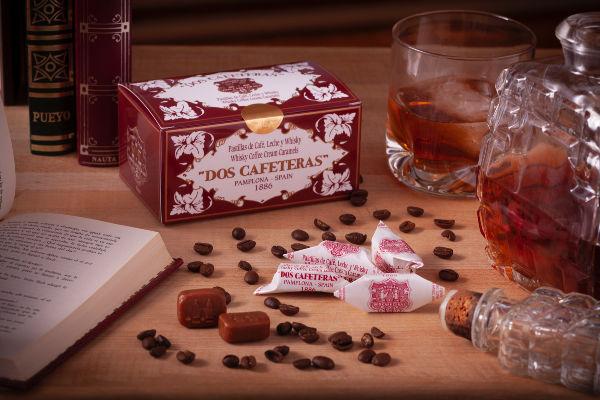 Caramelos Whisky Dos cafeteras