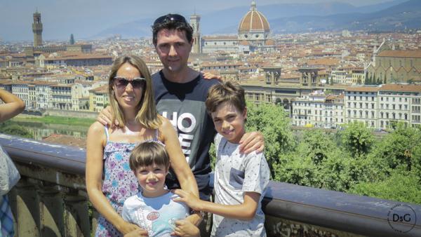 Viaje a Florencia en familia