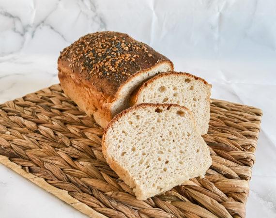 Pan de molde básico sin gluten