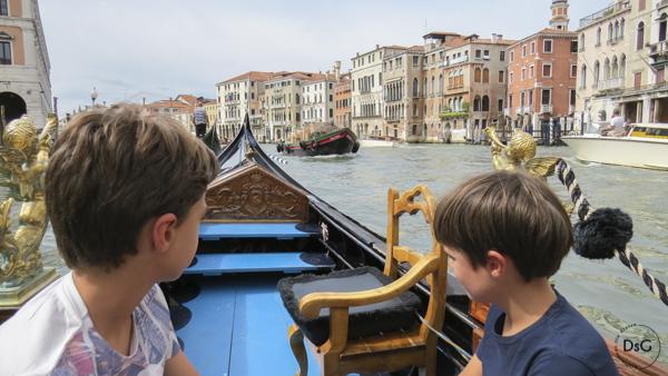 Venecia con niños y sin gluten