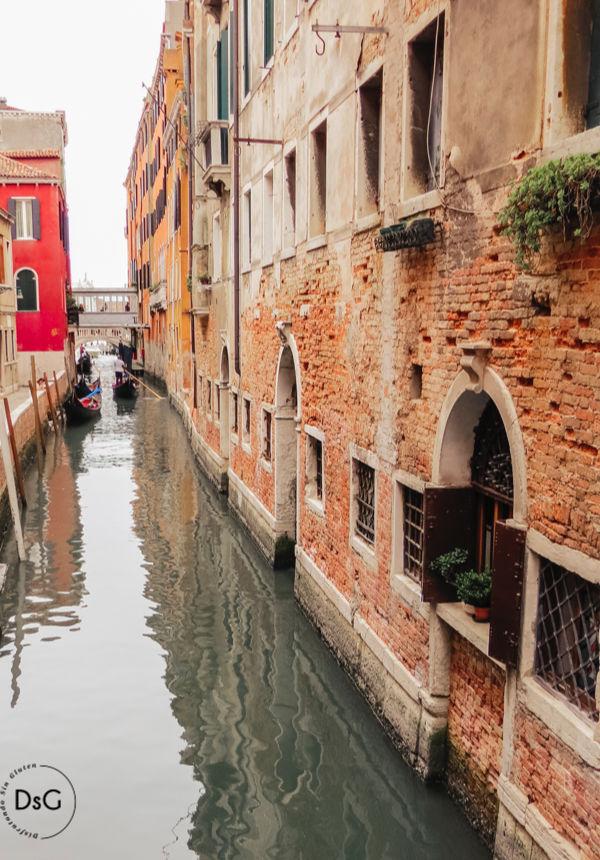 Guía de Venecia con niños y sin gluten