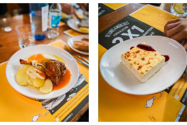 restaurante con opciones sin gluten en Pamplona La Tasca de Don José