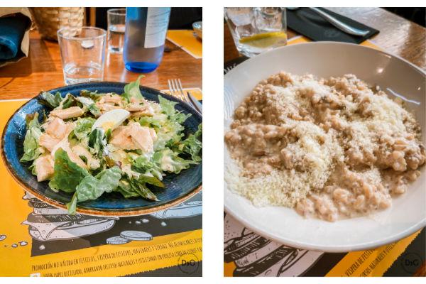 comida sin gluten restaurante La Tasca de Don José