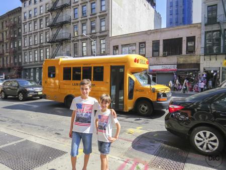 Bus escolar de NY