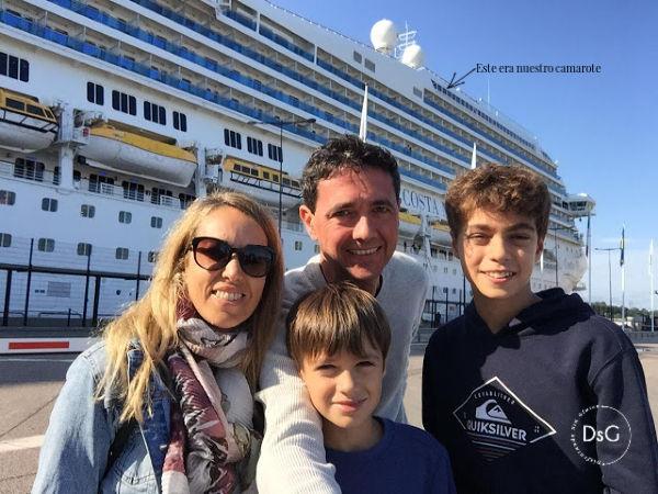 un crucero familiar por el mar Báltico