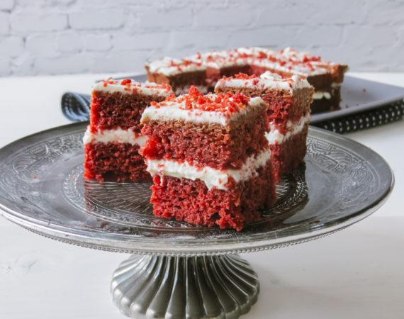 Red Velvet sin gluten