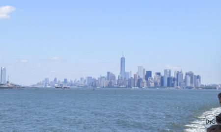 skyline de NY desde ferry Staten Island