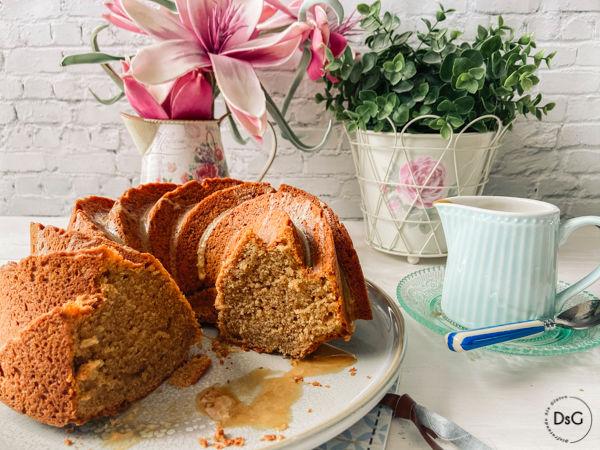 receta de un delicioso Bundt Cake de café