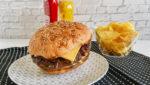 pan de hamburguesa sin gluten