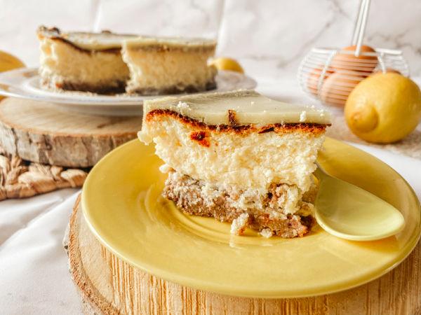 Tarta de queso y Lemond Curd sin gluten
