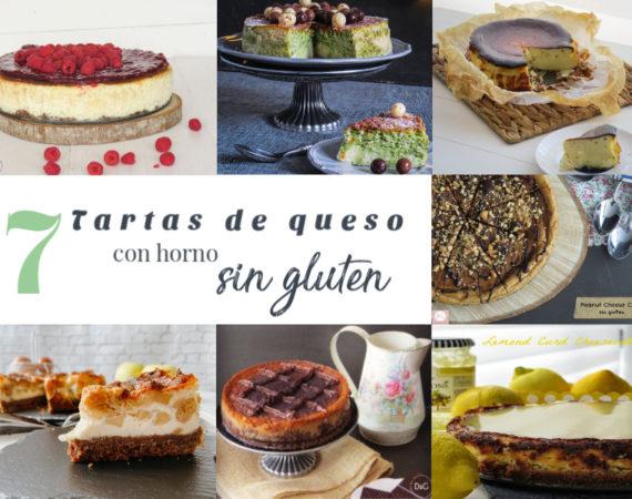 Tartas de queso sin gluten y con horno