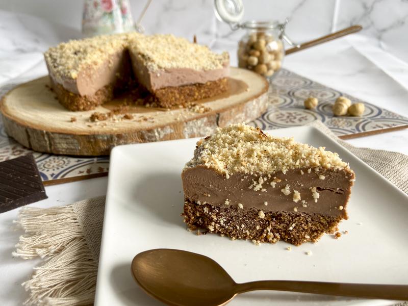 tarta helada de chocolate y mascarpone