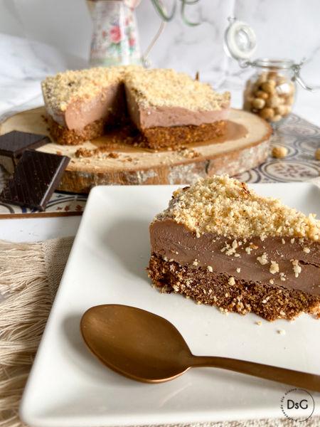 tarta helada de mascarpone y chocolate