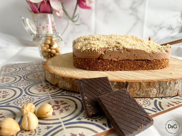 receta de tarta helada de chocolate y queso mascarpone