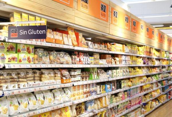 Productos de Carrefour sin gluten