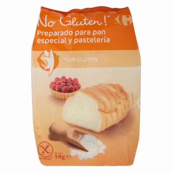 harina de Carrefour sin gluten