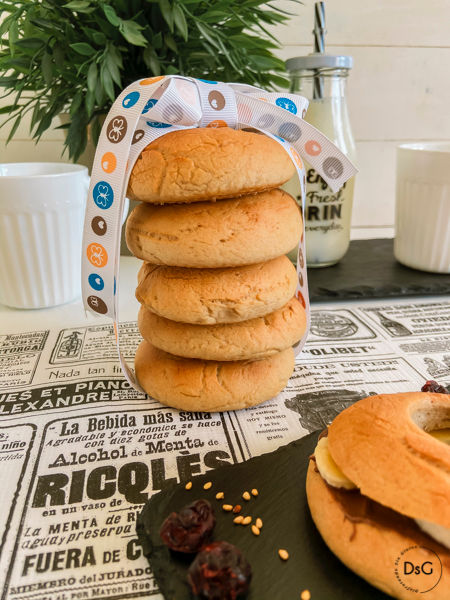 receta bagels sin gluten