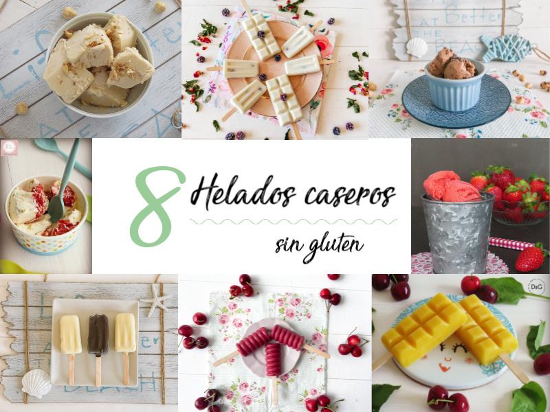 Recetas de helados caseros sin gluten