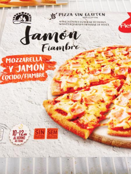 pizza sin gluten ALDI