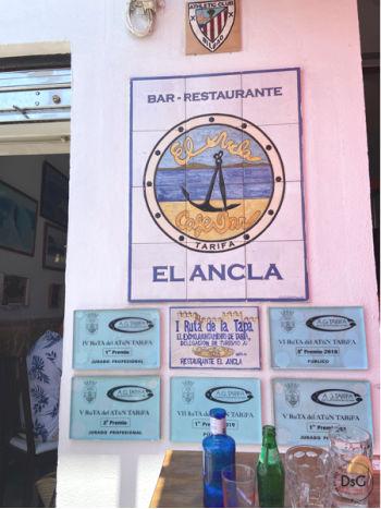 Restaurante sin gluten El ancla en Tarifa, Cádiz