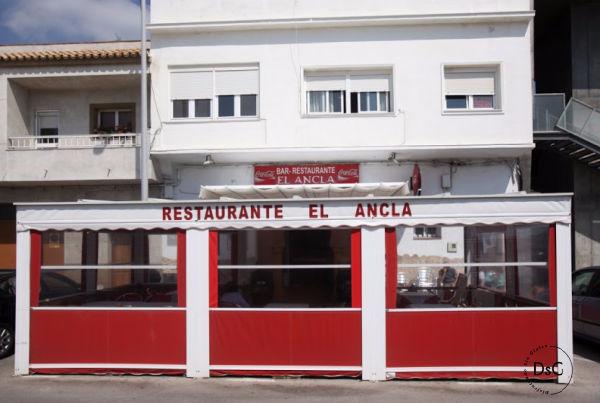 Restaurante El Ancla sin gluten en Tarifa