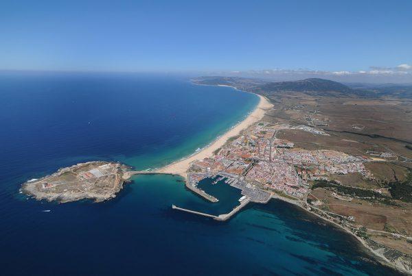 Vista aérea de Tarifa