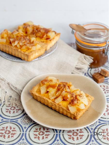 tartaletas de manzana sin gluten