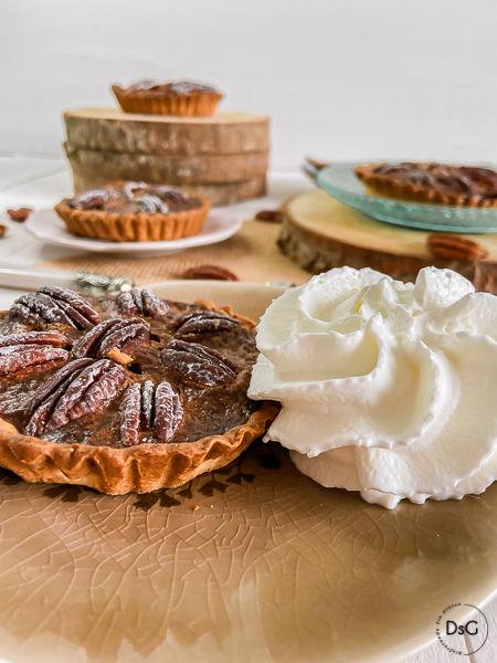 tarta de nueces pecanas sin gluten