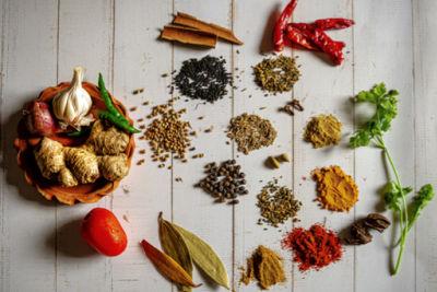 las especias y el gluten