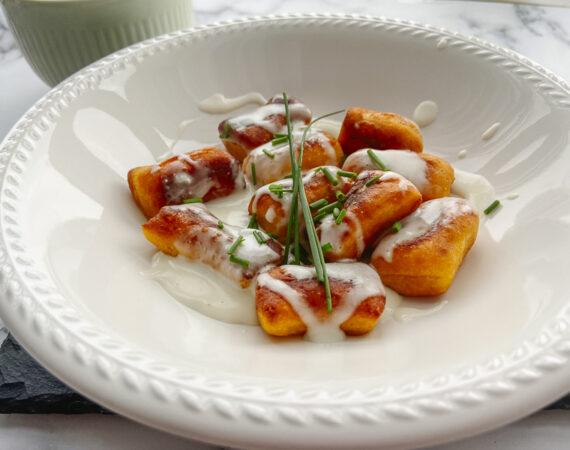 Ñoquis de batata y queso