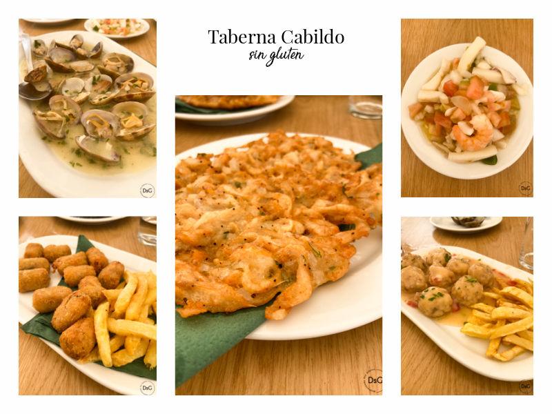 Taberna Cabildo sin gluten